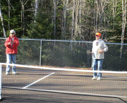 Pickleball Court at Greenlaw's RV Park & Campground
